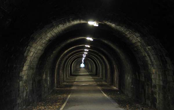 Il tunnel.